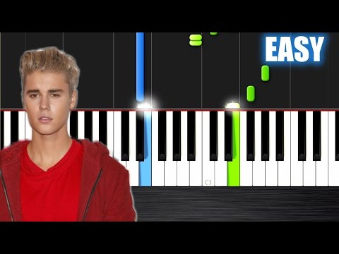 ... Love Yourself - EASY Piano Tutorial by PlutaX - Synthesia - YouRepeat
