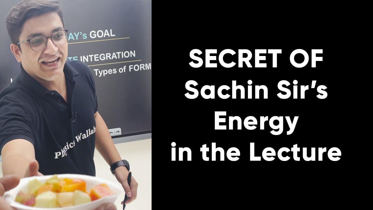Download Sachin Sir Studio Tour | Eating Fruits | Sachin Sir | PW Insider