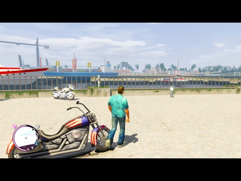 GTA Vice City Rage Classic Beta 4 Gameplay (4K)