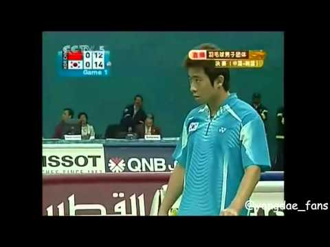 2006 Asian Games [Doha] Jung Jae Sung/Lee Yong Dae vs Cai yu