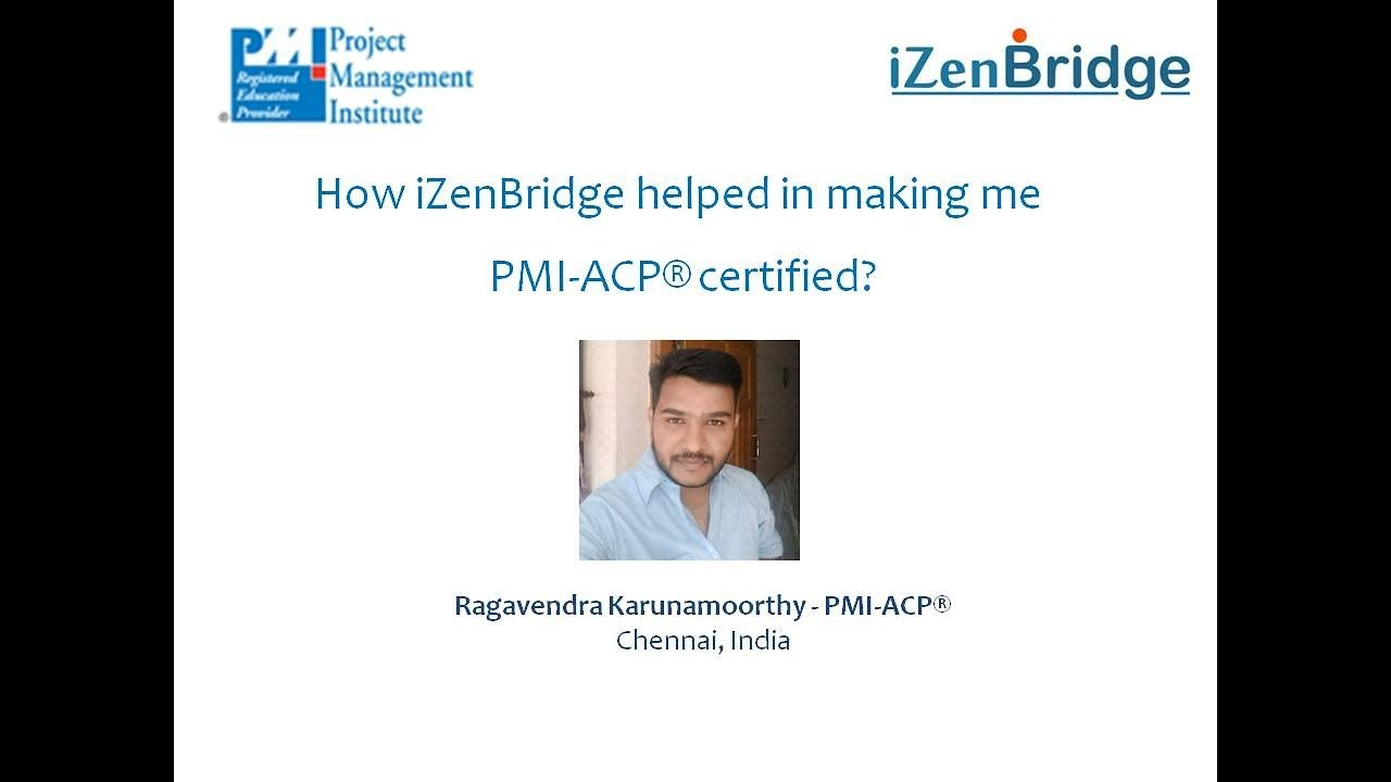 PMI-ACP® Online Training- Become Agile Certified Practitioner in 4 Weeks