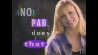1993 Tampax ad.