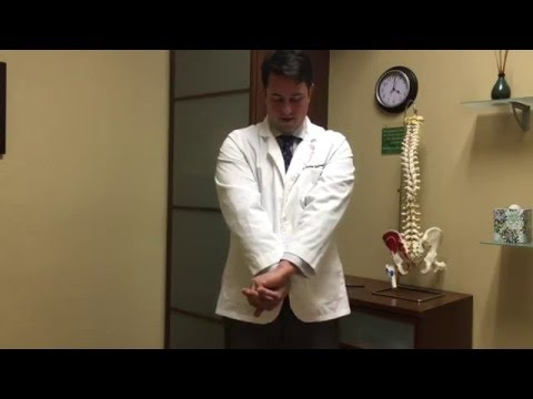 San Jose Chiropractor Shows A Stretch For Tennis Elbow Lateral Epicondylitis