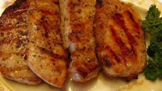 Betty's Grilled Boneless Pork Chops