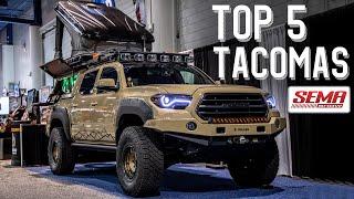 Top 5 Tacomas of SEMA 2019 | + New Product Reveals!