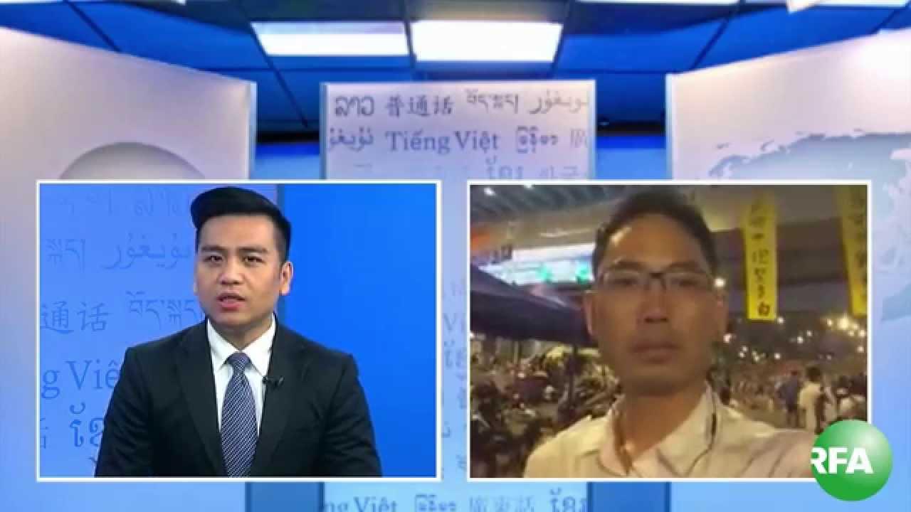 Tường thuật biểu tình từ Hồngkong