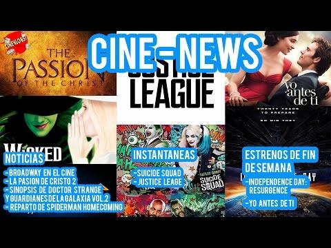 CineNews!: Broadway en el Cine, La Pasión de Cristo 2, Doctor Strange y MAS!