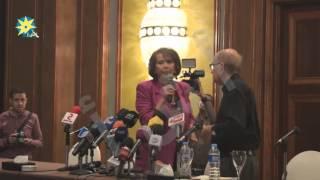 بالفيديو: كلاوديا كاردينالي: أنا سعيدة لوجودى فى مصر .. مصر جميلة جدا