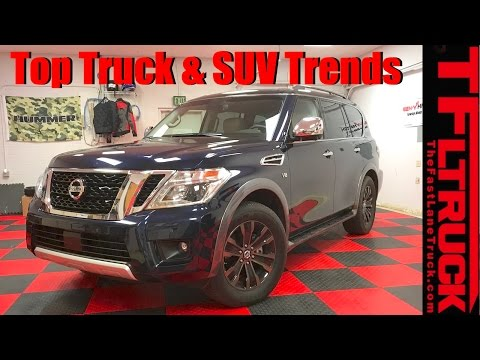 Latest Truck and SUV Trends