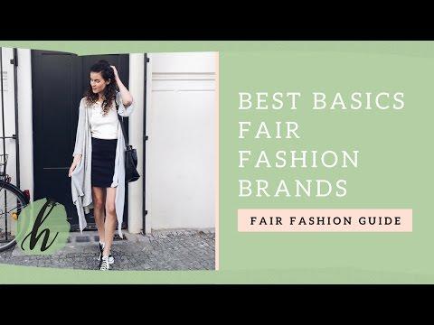 Basics Fair Fashion Brands   heylilahey Fair Fashion Guide   Homenest - Nachhaltig Leben
