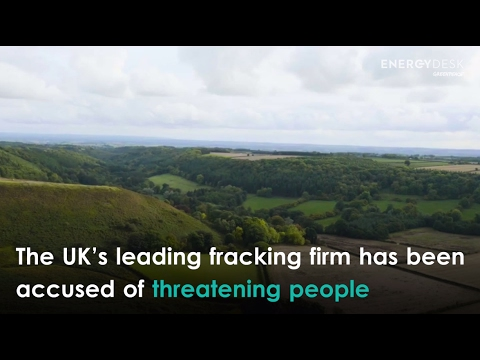 UK fracking firm threatens landowners