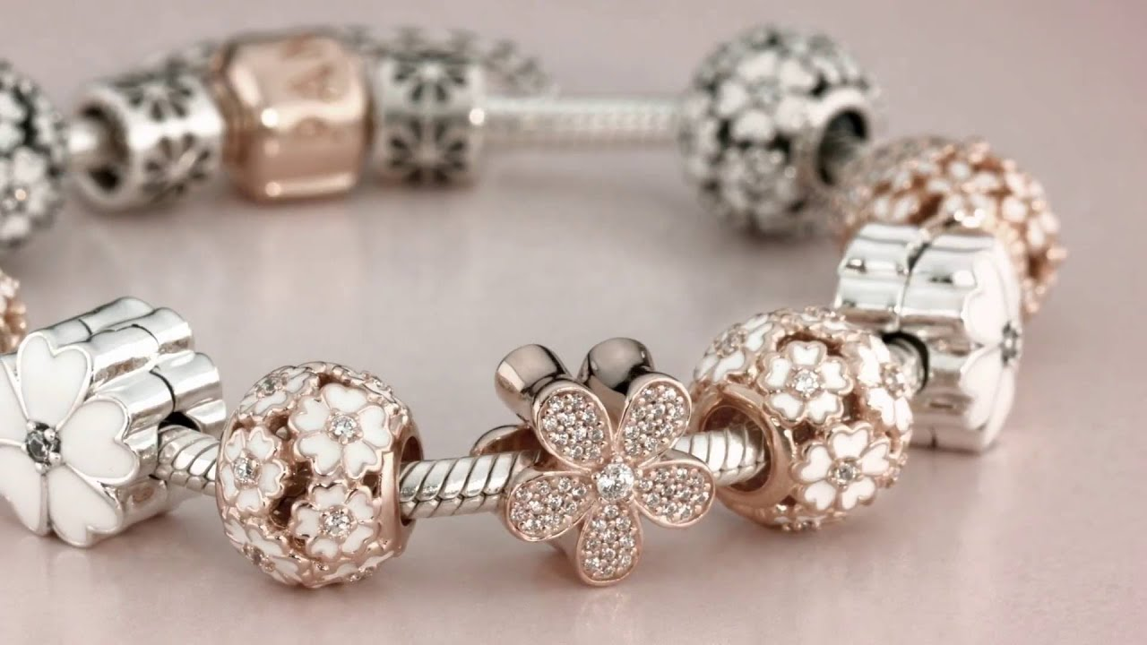 Introducing a brand new collection of PANDORA Rose jewellery YouTube
