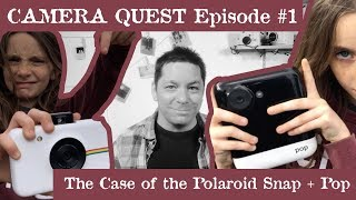 Camera Quest Episode #1 Polaroid Snap! Polaroid Pop!