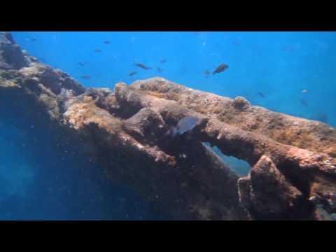 Praia Formosa, Santa Maria, Azores, snorkeling @ sunken ship