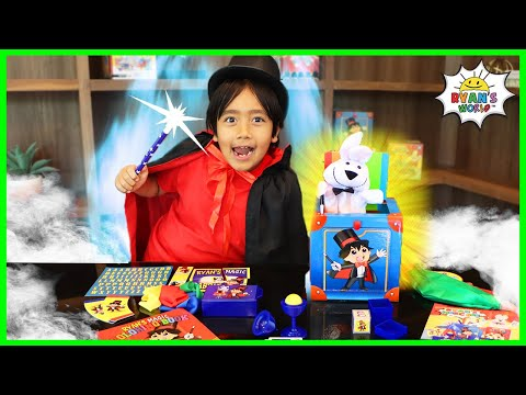Easy Magic Tricks Kids can do with Ryan!