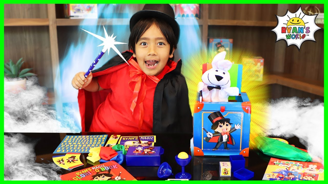 Download Easy Magic Tricks Kids can do with Ryan!