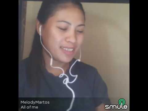 All of Me translated by (walang forever)sung by MELODY MARTOS