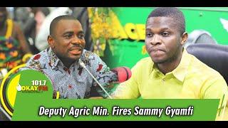 Stop Lying, NDC Never Provided Funds For PFJ Programme, Deputy Agric Min. Fires Sammy Gyamfi