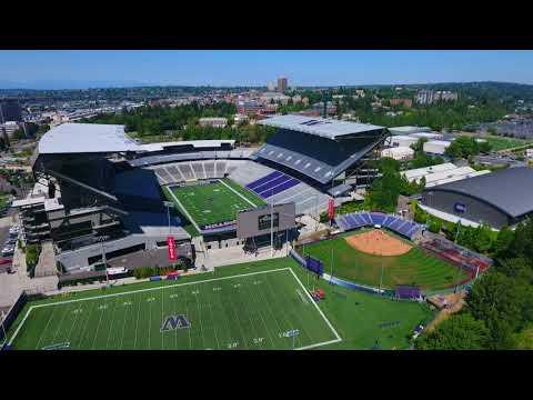 University of Washington Huskies Stadium (Short)