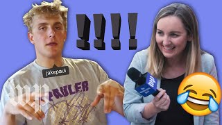 We asked Jake Paulers what they think about Jake Paul