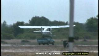 Plane Lands On Pick-Up Truck and Crashes  www.kbvp.com