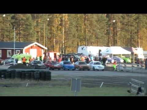 Folkrace C-B-A Finaler X - Cupen Seniorer Helsinge Motorstadion