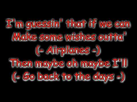 Airplanes Part 1 B.o.B. Ft. Hailiey Williams Of Paramore Lyrics on Screen HQ 480 P