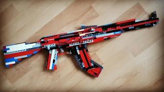 Lego AK-47 Tutorial / Instruction