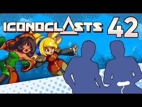 Iconoclasts - PART 42 - Metroid Switcheroo - Let's Game It Out |