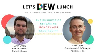 Let's DEW Lunch with CuriosityStream (April 27, 2020)