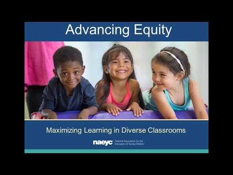 Webinar: Advancing Equity—Maximizing Learning in Diverse Classrooms