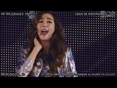 SNSD 少女時代   Galaxy Supernova Lyrics Romaji + Español Tokyo Dome Live 2014