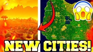 NEW FORTNITE MAP! | NEW CITIES! | GETTING WIN STREAKS! | FORTNITE BATTLE ROYALE! | #USKRC