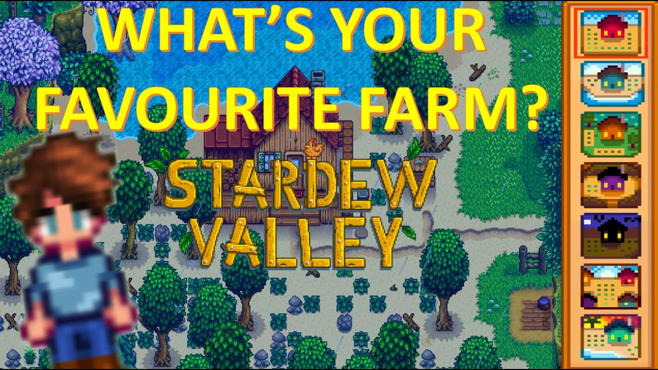 What's Your Favourite Stardew Valley Farm Layout?