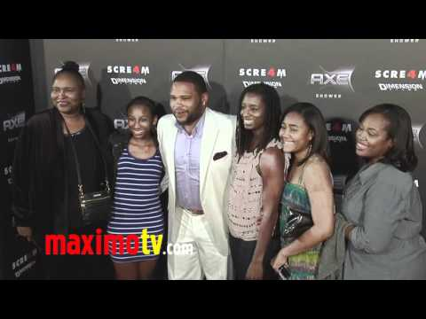 "ANTHONY ANDERSON at ""SCREAM 4"" Premiere"