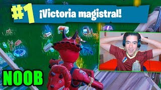 MY FIRST FORTNITE MASTERFUL VICTORY IN 50 VS 50 WITH THE NEW SKIN TheDonato