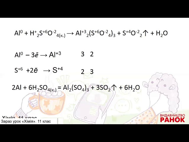11 клас. Хімія. Хімічні властивості алюмінію