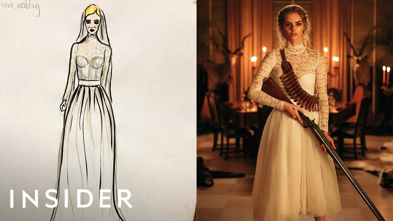 Image result for How the transforming wedding dress was designed for 'Ready or Not'
