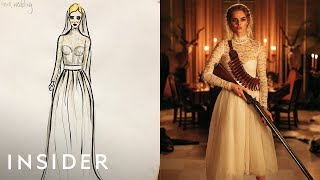 How The Transforming Wedding Dress Was Designed For 'Ready Or Not' | Movies Insider