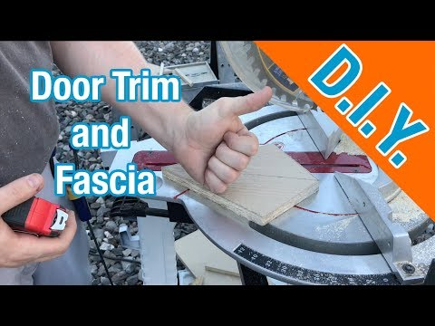 Installing Door Trim and Fascia: How To Build A Shed ep 13
