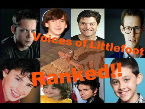 All 9 Voices of Littlefoot Ranked