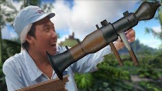 pha bắn rocket 1h của Tuấn tự bóp nhà của mình | ARK PVP Việt Nam | ARK Gaming Online