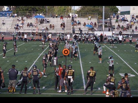 2015-08-01 North County Cobras, 18 at Inglewood Blackhawks, 29