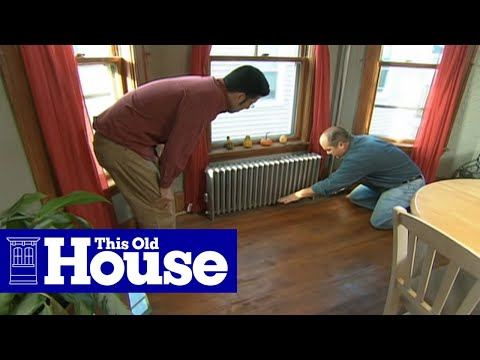 How to Quiet a Banging Steam Radiator - This Old House