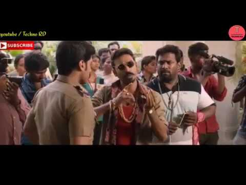 Maari Movie Best Dialogue _ Dhanush Rowdy...