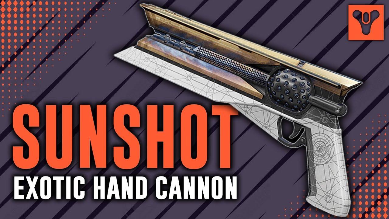 Shimbob Gaming Destiny 2 | Sunshot Exotic Weapon (Live Gameplay