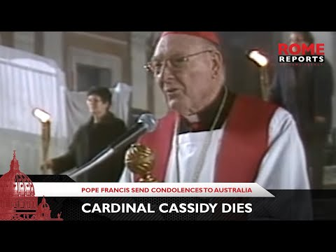 Pope sends condolences to Australia following death of Card. Cassidy