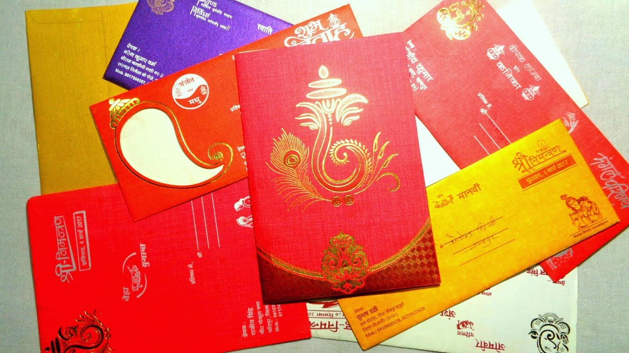 Best Use of Old Marriage/Wedding Cards Ideas By Jhilmil | Art ...