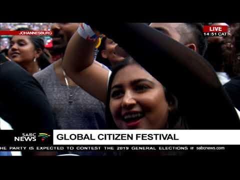 Global Citizen Festival: Mandela 100 kick starts at FNB stadium