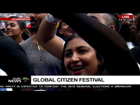 Global Citizen Festival: Mandela 100 kick starts at FNB stadium